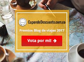 Premios Blog de viajes 2017