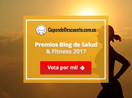 Banners para Premios Blog de Salud & Fitness 2017