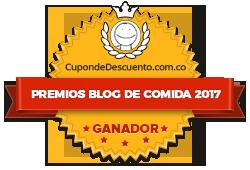Banners para Premios Blog de Comida 2017