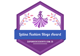 Banners for Latina Fashion Blogs Award