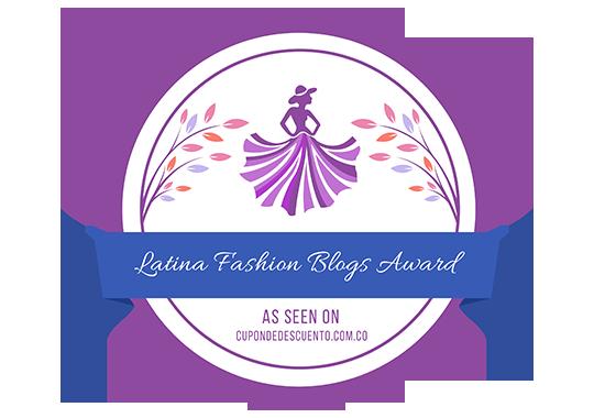 Banners for Latina Fashion Blogs Award