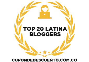 Banners for Top 20 Latina Bloggers